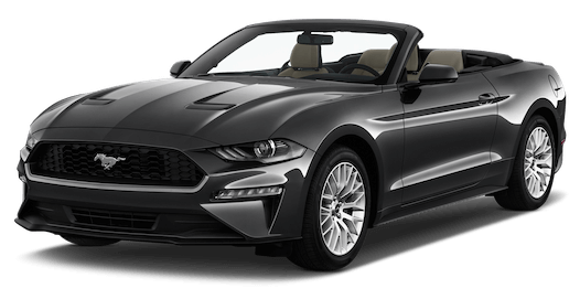 ford mustang cabrio frontansicht