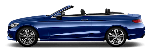 mercedes c-klasse cabrio seitenansicht