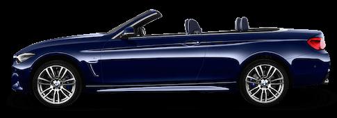 bmw 4er cabrio seitenansicht
