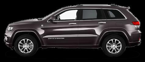 jeep grand cherokee seitenansicht