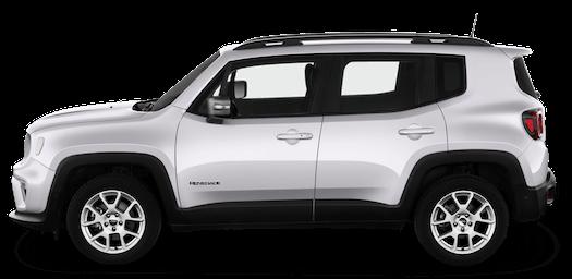 jeep renegade seitenansicht