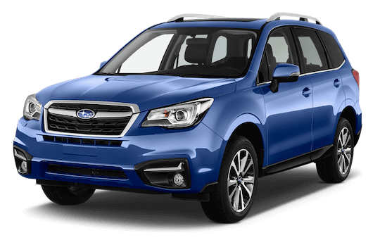 subaru forester frontansicht