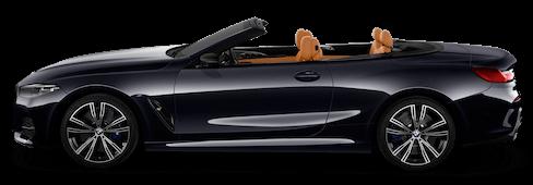 bmw 8er cabrio seitenansicht